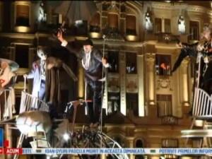 Timisoara, capitala teatrului in aceste zile. Festivalul European al Spectacolului a inceput cu un show stradal inedit