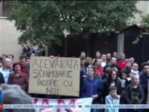 Mizeria din Spitalul Municipal din Sighisoara i-a impins pe oameni sa iasa la protest. Cer demisia managerului