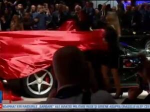 Salonul Auto de la Paris. Cum arata noua masina hibrid de la Ferrari, care atinge 100 km/h in mai putin de 3 secunde