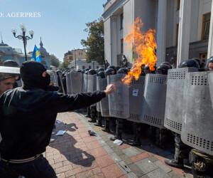 violente in Kiev dupa votarea reformei constitutionale