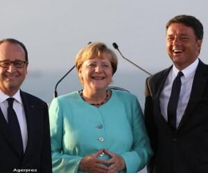 Merkel, Renzi si Hollande