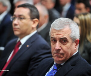 Calin Popescu Tariceanu, Victor Ponta - AGERPRES