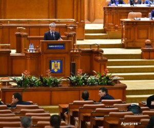 Dacian Ciolos, discurs in Parlament