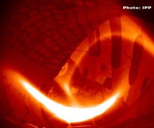 plasma la Institutul Max Planck din Greifswald