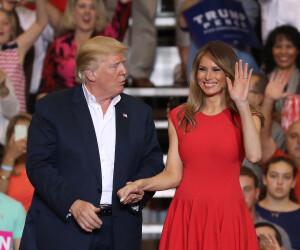 Donald si Melania Trump - Getty