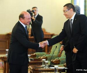 Traian Basescu, Victor Ponta - AGERPRES