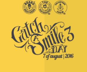 """Catch a Smile Day. Cea mai mare strangere """"de fonduri"""" de zambete are loc si in aceasta vara la Cluj-Napoca"""