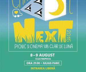 Caravana Filmelor NexT ajunge la Cluj. Scurtmetrajele vor fi vazute la iarba verde, in Iulius Parc
