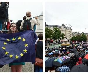 Cover proteste Londra