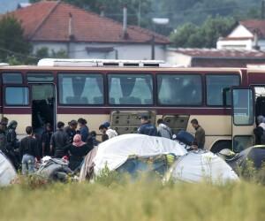 tabara de refugiati de la Idomeni - Agepres