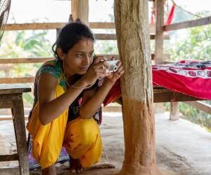 adolescente Nepal