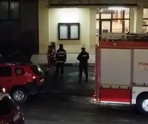 UMF Iasi - incendiu