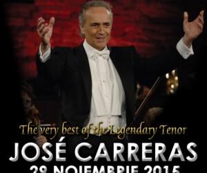 """Jose Carreras va concerta alaturi de Filarmonica de Stat """"Transilvania"""", in curand la Cluj-Napoca"""