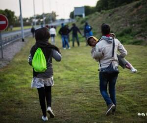 copii in Jungla din Calais