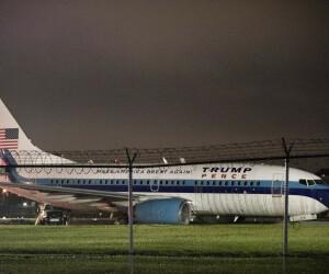 avion de campanie Mike Pence