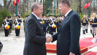 Klaus Iohannis, Recep Erdogan