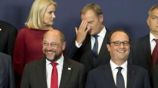 Traian Basescu la summitul de la Bruxelles - cover