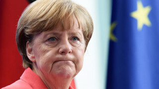 Angela Merkel incruntata