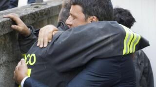 Matteo Renzi, cutremur in Italia