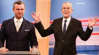 Alexander Van der Bellen si Norbert Hofer