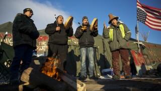 Proteste oleoduct Dakota de Nord