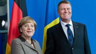 Iohannis si Merkel