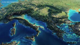 harta Europa 3D