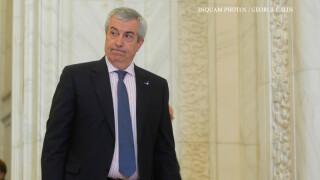 Calin Popescu Tariceanu face declaratii de presa dupa sedinta Birourilor Permanente