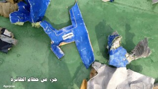 Resturi avion EgyptAir