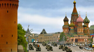 parada militara Kremlin