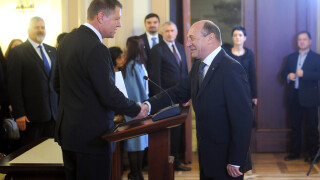 Klaus Iohannis, Traian Basescu