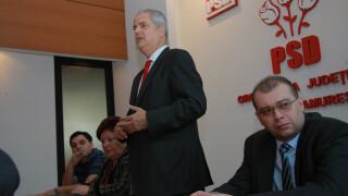 Dan Mihalache cu Adrian Nastase la PSD