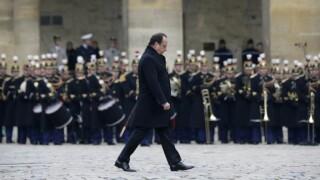 Hollande comemorare Franta