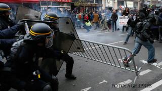 Paris, ciocniri intre politie si ecologisti