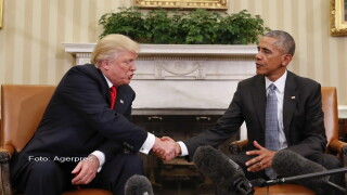 Obama - Trump - Agerpres