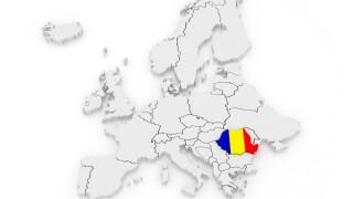 Europa, Romania, harta