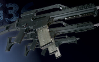 Pusca de asalt 5,56 mm x 45