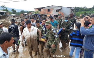 Columbia, Mocoa, alunecare de teren - 2