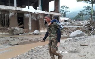 Columbia, Mocoa, alunecare de teren - 4