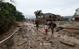 Columbia, Mocoa, alunecare de teren - 6