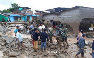 Columbia, Mocoa, alunecare de teren - 7