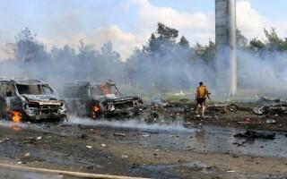 Atac cu masina capcana in Siria