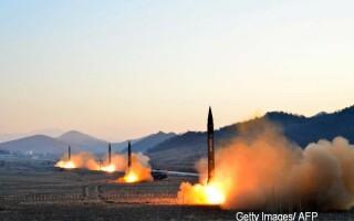 coreea de nord rachete