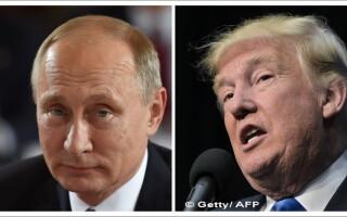 Vladimir Putin - Donald Trump
