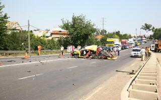 Accident la Gura Calnaului, pe DN2