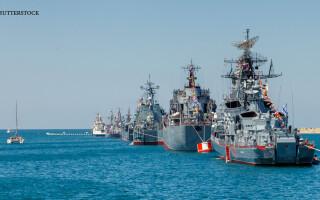 flota ruseasca in Crimeea