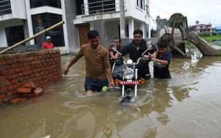 inundaţii Nepal