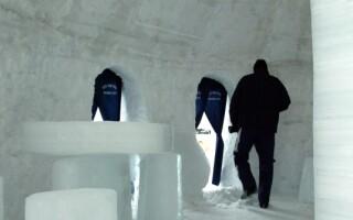 Hotelul de gheata de la Balea
