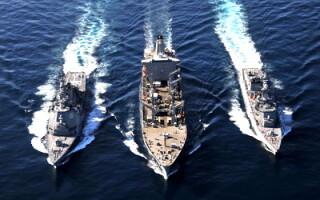 Manevre militare in marea galbena
