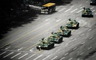 Studentul care a oprit tancurile